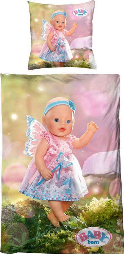 Kinderbettwäsche »Fee«, Baby Born, mit Digitaldruck