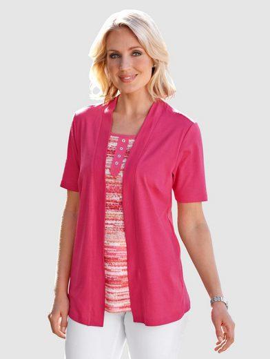 Paola 2-in-1 Shirt mit Druck in leuchtenden Farben