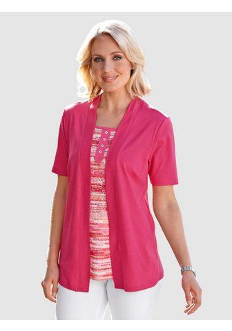Paola 2-in-1 Shirt su Druck in leuchtenden F...