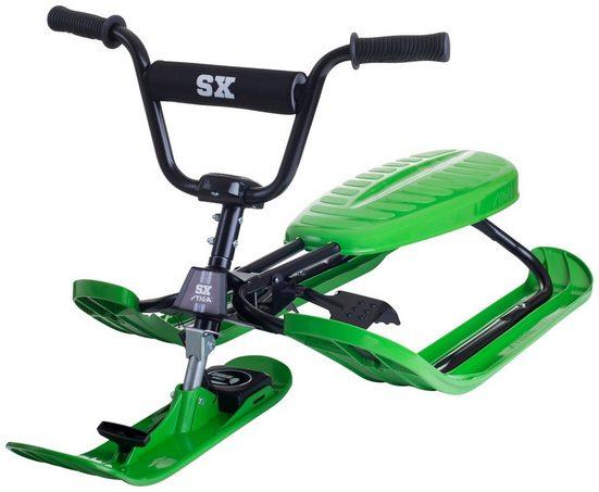 STIGA Schlitten »Racer SX Green«, BxL: 50x120 cm