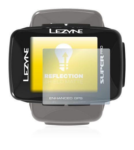 upscreen Schutzfolie »für Lezyne Super Pro GPS«, Folie Schutzfolie matt entspiegelt