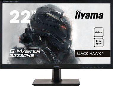 "Iiyama G-Master G2230HS Black Hawk Gaming-Monitor (55 cm/22 "", 1920 x 1080 Pixel, Full HD, 0,8 ms Reaktionszeit, 75 Hz, TN LED)"