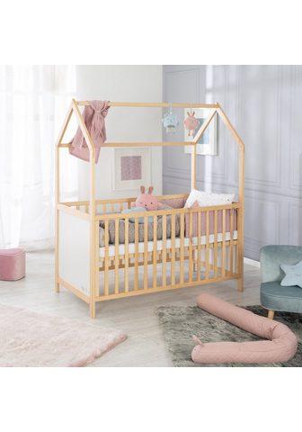 roba ® lovytė kūdikiui »Hausbett 70/140 nat...