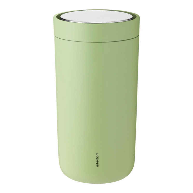 Stelton Coffee-to-go-Becher »To-Go Click soft green 200 ml«, Stahl