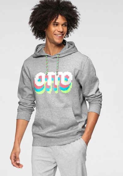 """OTTO Kapuzensweatshirt »OTTO Logo« """"OTTO"""" Logo in 3-D Optik/aus GOTS zertifizierter Bio-Baumwolle"""
