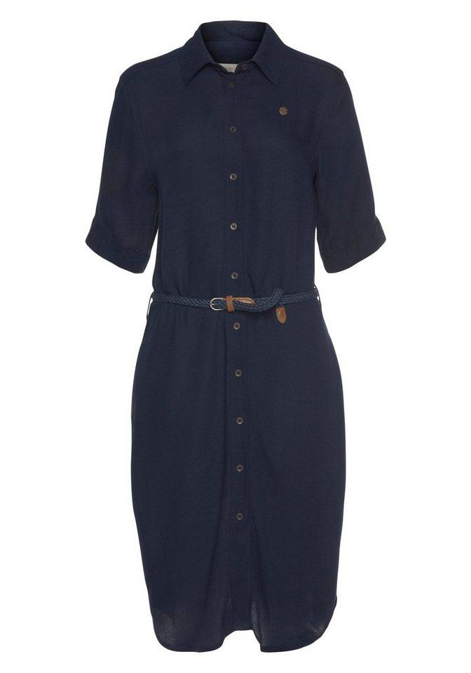 ragwear -  Blusenkleid »ADAMITA« (2-tlg., mit abnehmbarem Gürtel)