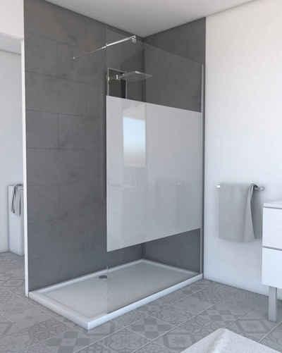 Marwell Walk-in-Dusche »PLANO«, Einscheibensicherheitsglas, (1 tlg), 120 x 200 cm, mit Sichtschutz