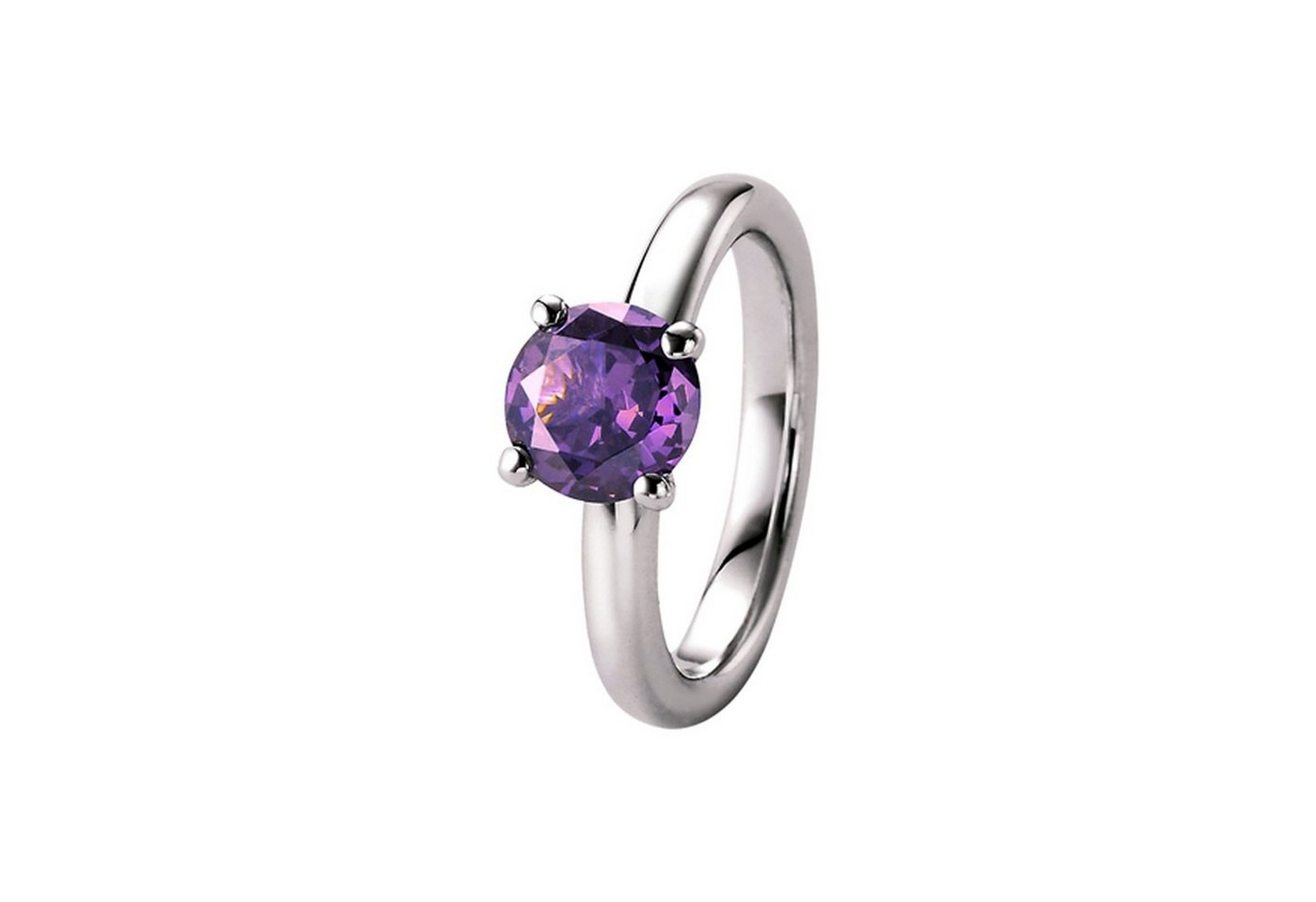 giorgio martello milano -  Fingerring »mit lavendelfarbigem Zirkonia, Silber 925«