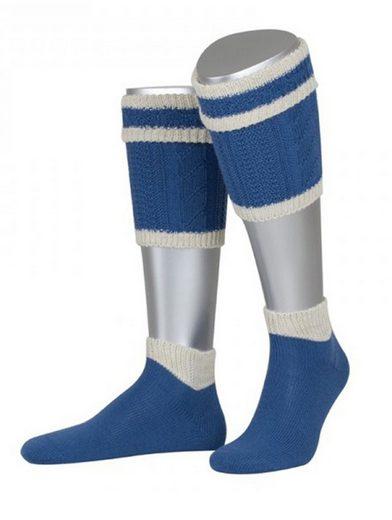 Almbock Trachtensocken »Trachten Loferl Kaprun« (1-Paar) blau