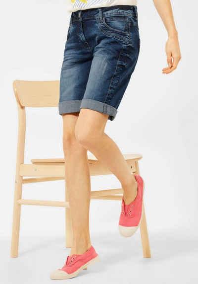 Cecil Shorts »Style Scarlett« mit kontrastfarbenen Nähten