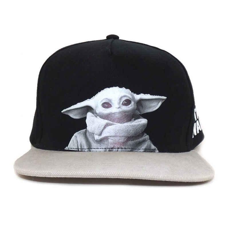 Star Wars Baseball Cap »Mandalorian – Black And White Photo (Snapback Cap)«