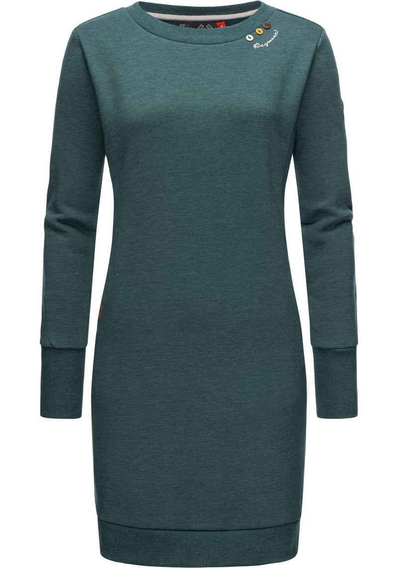 Ragwear Sweatkleid »Menita Intl.« stylisches Langarmkleid für den Winter