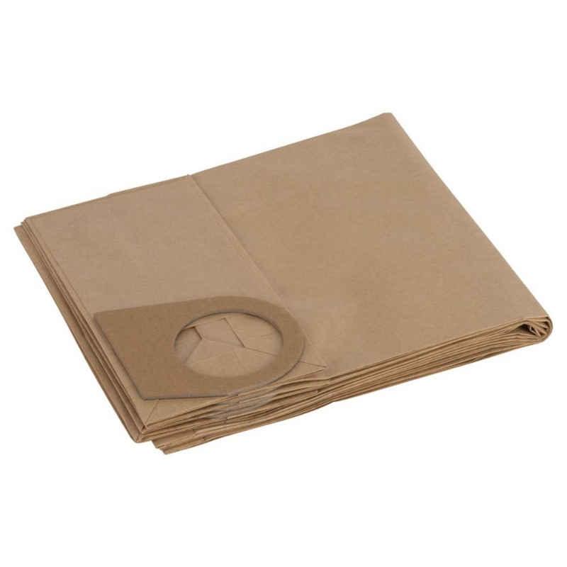 BOSCH Staubsaugerbeutel Papierfilterbeutel passend zu GAS 1000/ PAS 90, 5