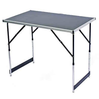 Goods+Gadgets Klapptisch »Camping-Tisch Mehrzwecktisch« (Markttisch Tapeziertisch), Klappbarer Multifunktionstisch