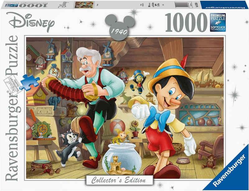 Ravensburger Puzzle »Pinocchio«, 1000 Puzzleteile, FSC® - schützt Wald - weltweit; Made in Germany