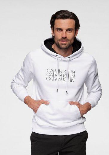 Calvin Klein Hoodie »TRIPLE CENTER LOGO HOODIE«