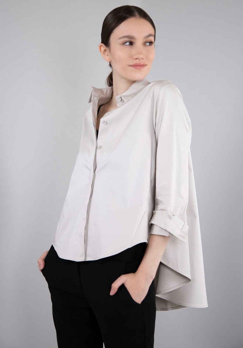 IMPERIAL Klassische Bluse »IMP-C ED4CFE« glockenförmige Form