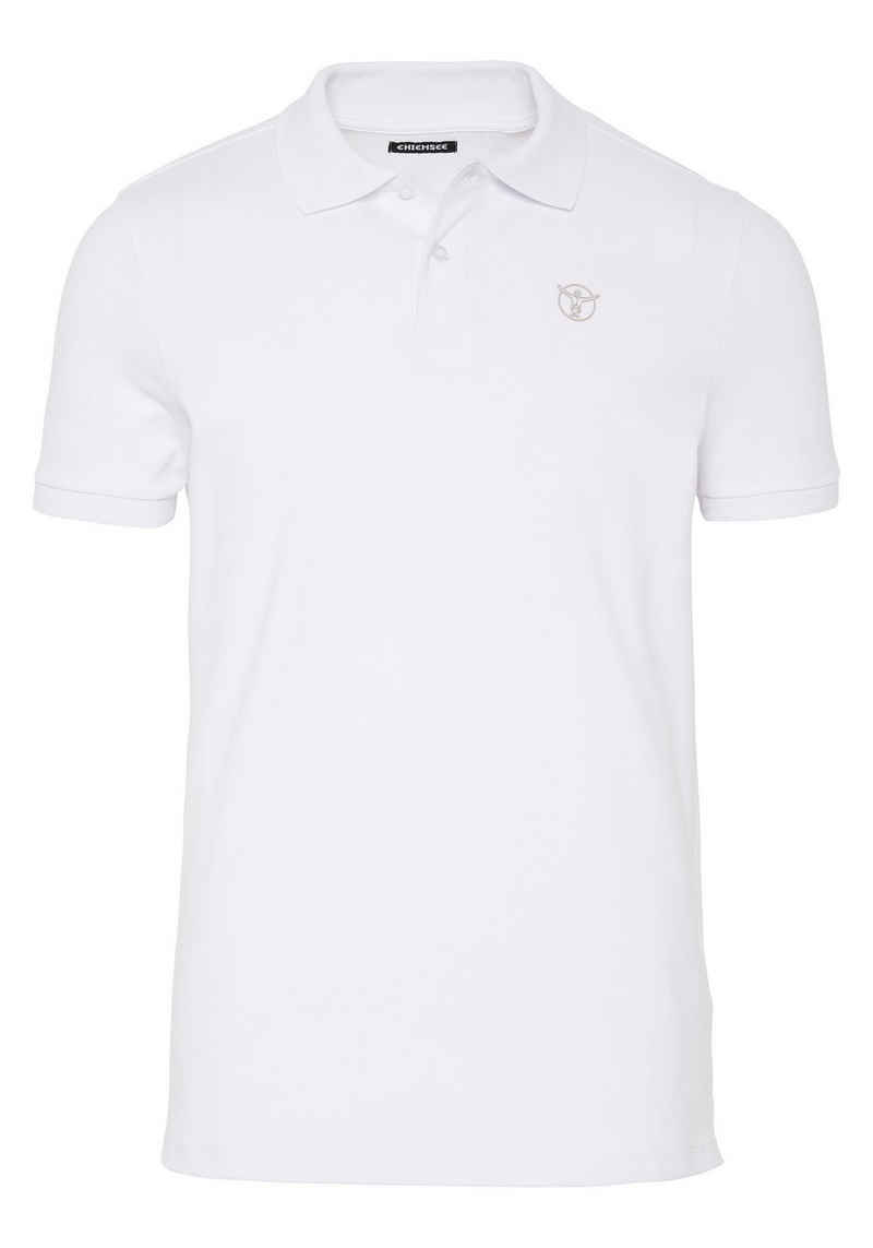 Chiemsee Poloshirt »mit CHIEMSEE Logo auf der Brust« (1-tlg)