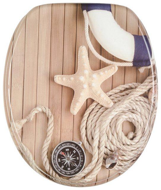 WCs und Zubehör - Sanilo WC Sitz »Maritime«, mit Absenkautomatik  - Onlineshop OTTO