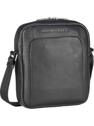 PORSCHE Design Umhängetasche »Roadster Leather Shoulderbag XS 1510«, Umhängetaschen Hochformat