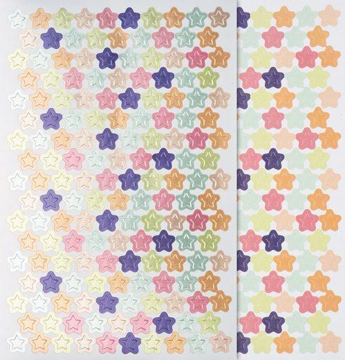 maildor Sticker »Sterne«, 648 Stück