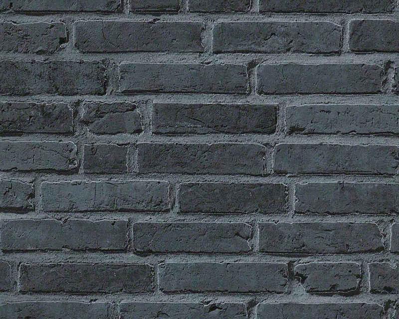 living walls Vliestapete »Best of Wood`n Stone 2nd Edition«, Steinoptik, Backstein
