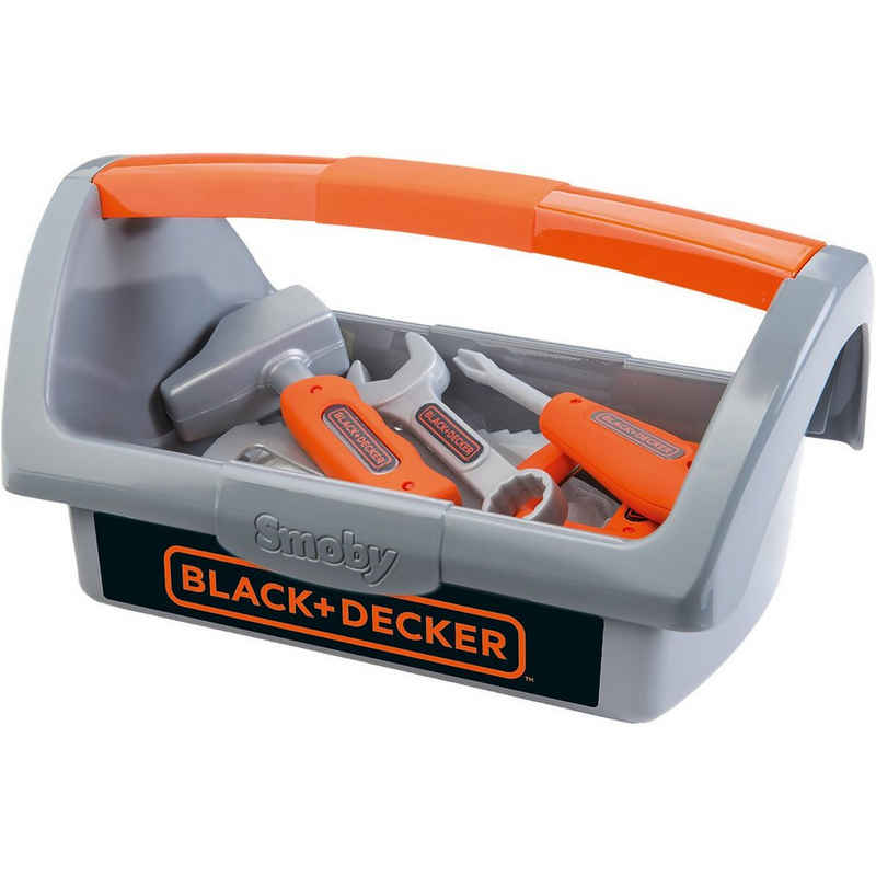 Smoby Spielwerkzeug »Black+Decker Werkzeugkiste«
