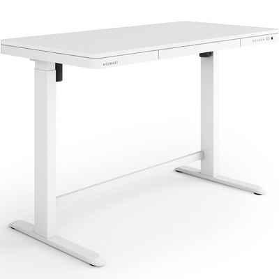 ESMART Schreibtisch »ESMART GmbH«, EMX-121 Elektrisch höhenverstellbarer Schreibtisch Höhe: 72 - 121 cm