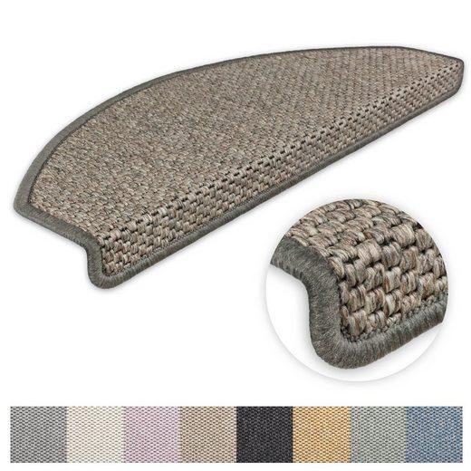 Stufenmatte »Göteborg«, Metzker®, halbrund, Höhe 8 mm, 15 Stück im Set