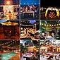 Elegear LED-Lichterkette »LED Lichterkette Glühbirnen IP65 Wasserfest, Avoalre G40 warmweiss 30 Glühbirnen LED Lichterkette Außen,10M Innen-/Aussenbeleuchtung Partylichterkette (Max. 170M) Ausdehnbar Outdoor Lichterkette«, Bild 5