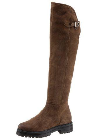 Mjus »DOBLE« ilgaauliai batai virš kelių su...