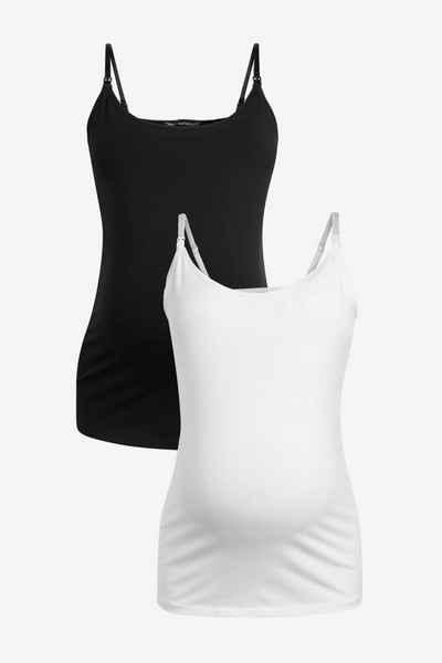 Next Umstandstop »Stillhemden aus Bio-Baumwolle, 2er-Pack« (2-tlg)