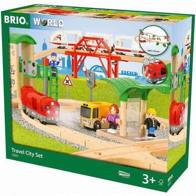 BRIO® Spielzeugeisenbahn-Set »Travel City Set«