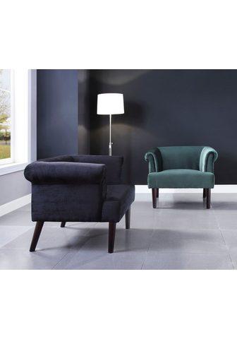 ATLANTIC home collection Sessel Loungesessel su Wellenunterfede...