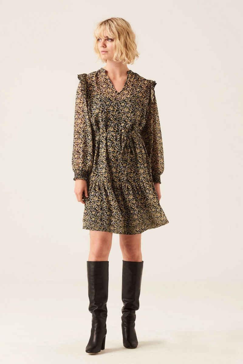 Garcia A-Linien-Kleid »I10082 - 1048-golden sun« mit V-Ausschnitt