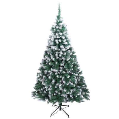 FCH Künstlicher Weihnachtsbaum, 210 cm Künstlicher Weihnachtsbaum Tannenbaum Christbaum-Ständer Weihnachtsdeko
