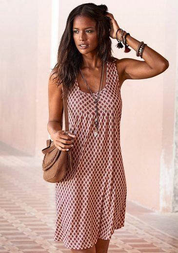LASCANA Strandkleid mit Alloverprint
