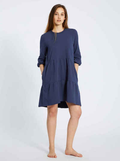 Mey Nachthemd »Sweatkleid mit 3/4-Ärmel, Länge 86 cm« (1-tlg)