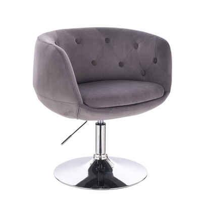 SVITA Chesterfield-Sessel »PANAMA«, 360° drehbar, stufenlos höhenverstellbar, angenehm gepolstert und hochwertig verarbeitet