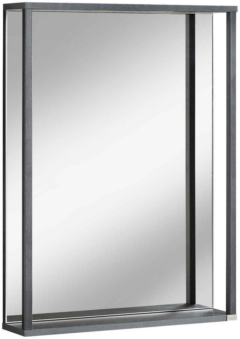 OTTO products Badspiegel »Netta«, 60 x 80 cm, Spiegel, FSC®-zertifiziertes Holzmaterial