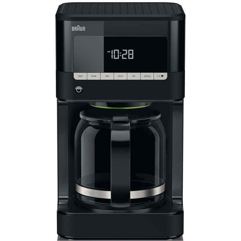 Braun Filterkaffeemaschine KF7020 Kaffeemaschine PurAroma 7 schwarz