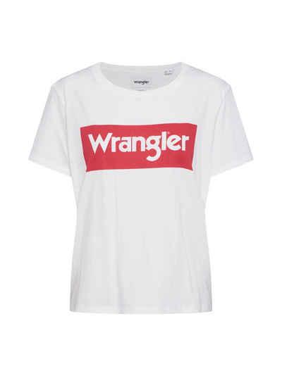 Wrangler T-Shirt »LOGO TEE« (1-tlg)