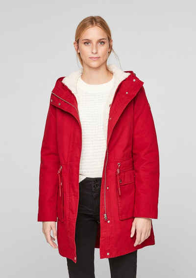 Q/S by s.Oliver Funktionsmantel »Parka mit herausnehmbarer Jacke«