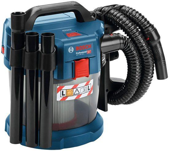 Bosch Professional Nass-Trocken-Akkusauger GAS 18V-10 L, beutellos, 10 l, inkl. 2 Akkus und Zubehöer