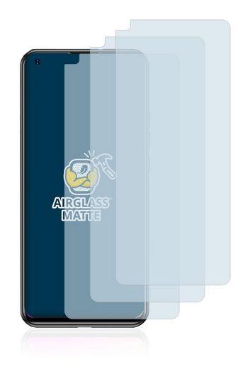 BROTECT Schutzfolie »Panzerglasfolie für Doogee N30«, (3 Stück), Schutzglas Glasfolie matt