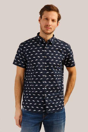 Finn Flare Hemd mit coolem Print