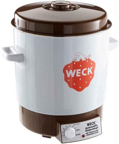 Weck Einmachglas »WECK Einkochautomat WAT14 Einkochtopf emailliert, ohne Uhr, 29 Liter - 6828«