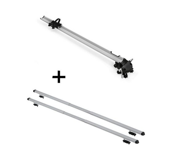 VDP Fahrradträger, Fahrradträger Bike Pro + Dachträger RAPID kompatibel mit Kia Clarus (5Türer) 95-01