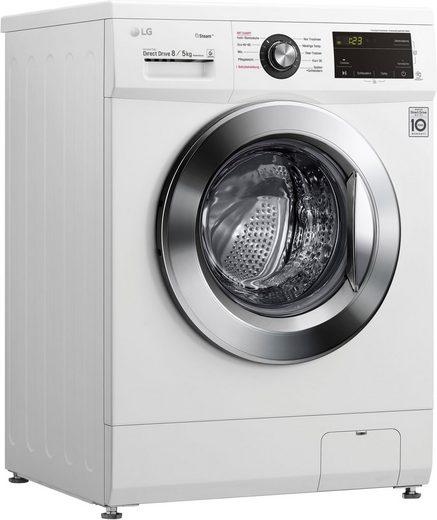 LG Waschtrockner F14G6TDM2NE, 8 kg, 5 kg, 1400 U/min, Energieeffizienzklasse Wasch-Zyklus D