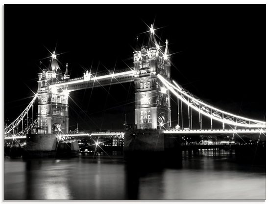 Artland Glasbild »Tower Bridge London«, Brücken (1 Stück)